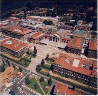 Colour. Aerial view