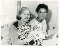 Dr. Marianne Roux (Left), Heidi Cobus (Right)