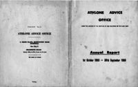 The Black Sash - Cape Western Region. Athlone Advice Office. Report for 12 months from 1st October 1964 to 30th September 1965