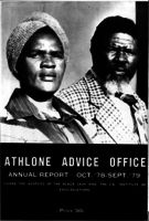 Athlone Advice Office. Annual report October '77 - Sep '78