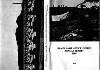 Black Sash Advice Office. Annual Report January - December 1984