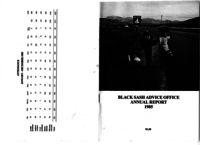Black Sash Advice Office. Annual Report January - December 1985