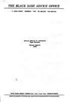Advice Office Co ordinator Cape Western: Annual Report 1993