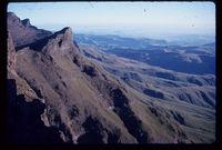1.7 miles NNW of Langalibalele Pass