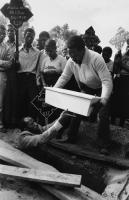 Funeral of baby, Crossroads, 1985